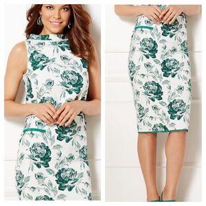 NY&C Eva Mendez Floral Jacquard Skirt & Top Set 18